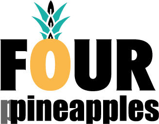 Four ppineapples