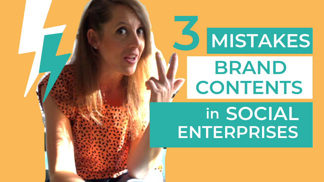 3 mistakes and solutions on contents between social enterprises